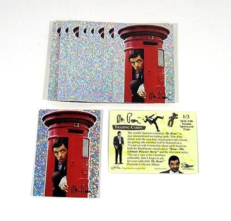 lot of 10 1998 dart mr bean foil promo card 1 3 toronto card