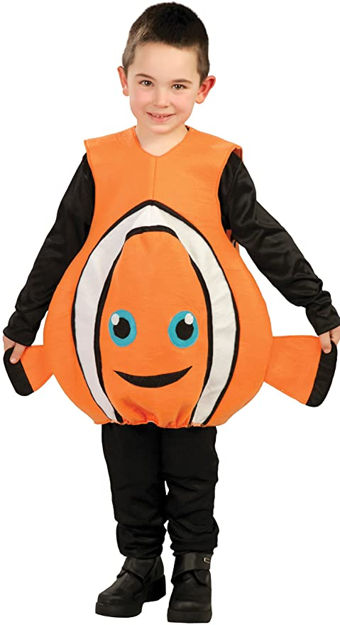 Fish & Aquariums Costume Per Bambini Pesce Arancio Pet Supplies