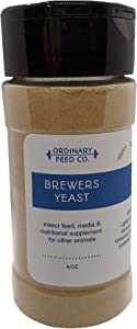 Brewer's Yeast (4oz Shaker) - Ideal for Springtails, Fruit Fly Cultures, Food Supplement