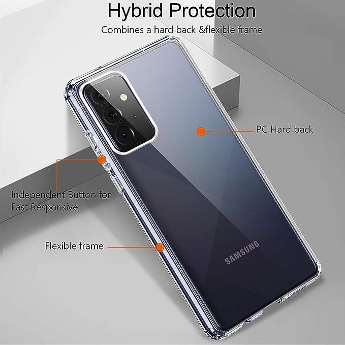 Ivencase Hülle Kompatibel Mit Samsung Galaxy A72 5g Elektronik