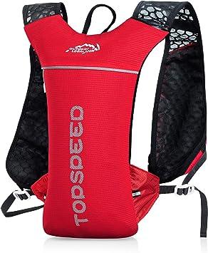 UTOBEST Mochila Ligera de Hidratación para Ciclismo y Running, Pequeña, 5 litros