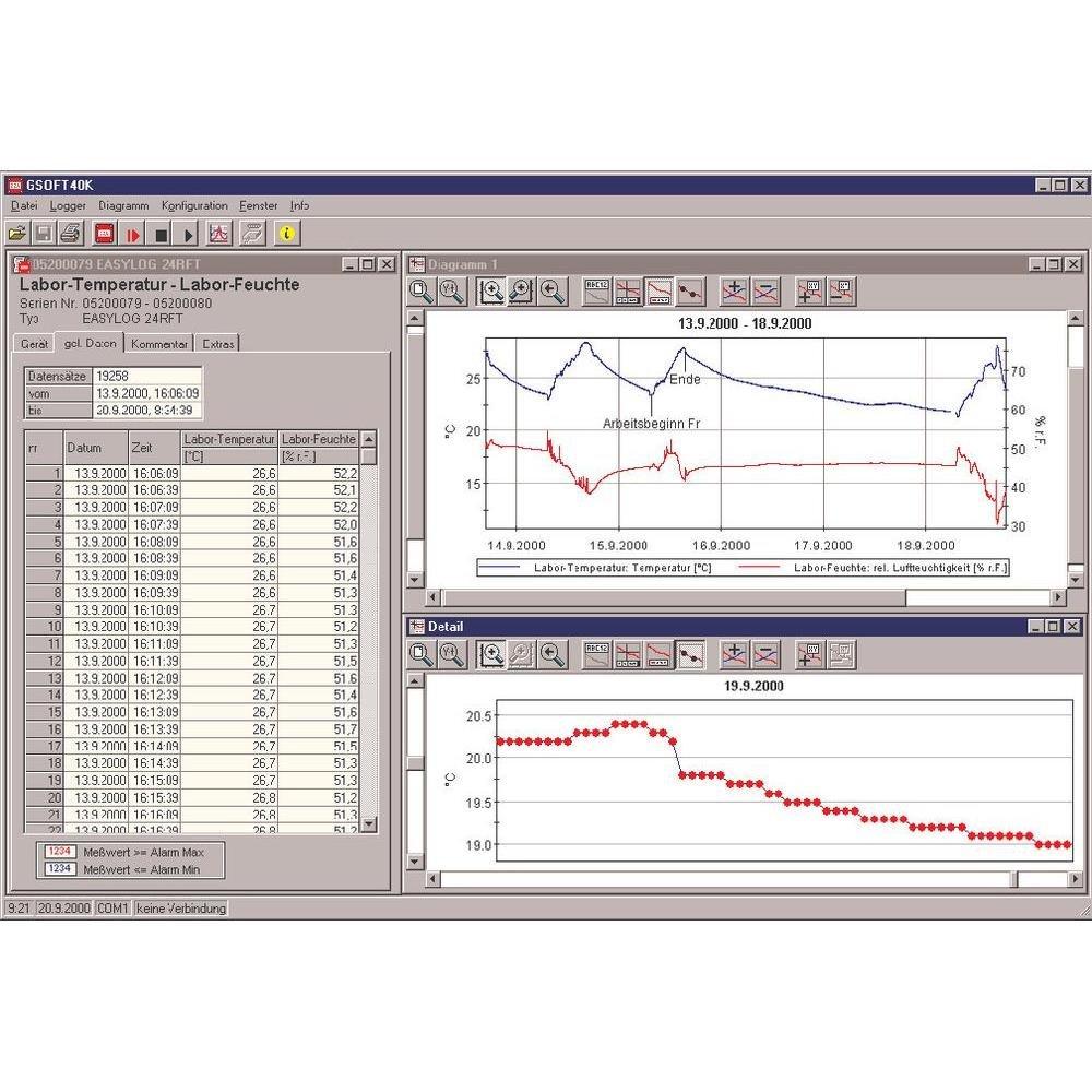 greisinger gsoft 40 K Software apto para greisinger ...