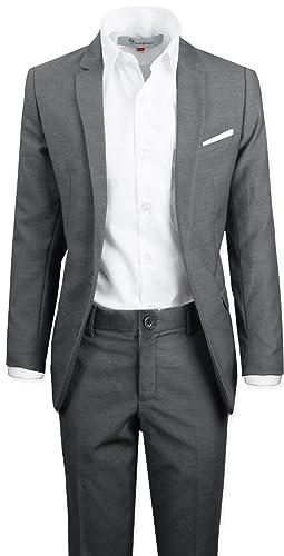 Amazon.com: Negro n Bianco Signature Boys Slim esmoquin con ...