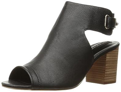 ec032a9b448 STEVEN by Steve Madden Women s Venuz Dress Sandal Black Leather 7 ...