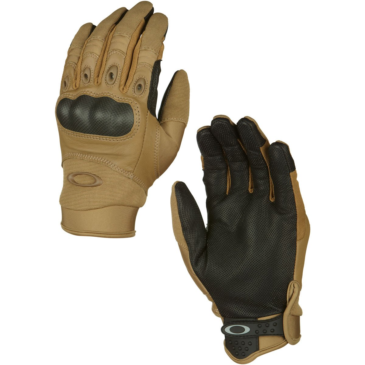 Oakley Mens Factory Pilot Glove, Coyote, X-Small