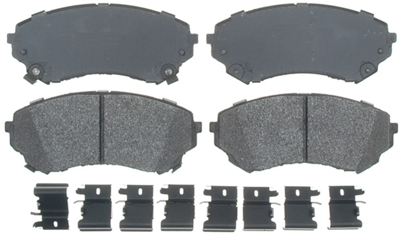 ACDelco 17D1331MH Professional Semi-Metallic Front Disc Brake Pad Set