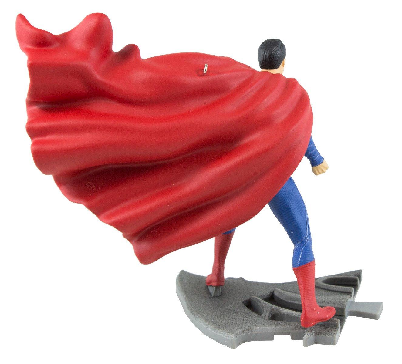 4.15-Inch by 4.39-Inch by x 2.73-Inch Hallmark Batman V Superman Dawn of Justice Superman Keepsake Ornament
