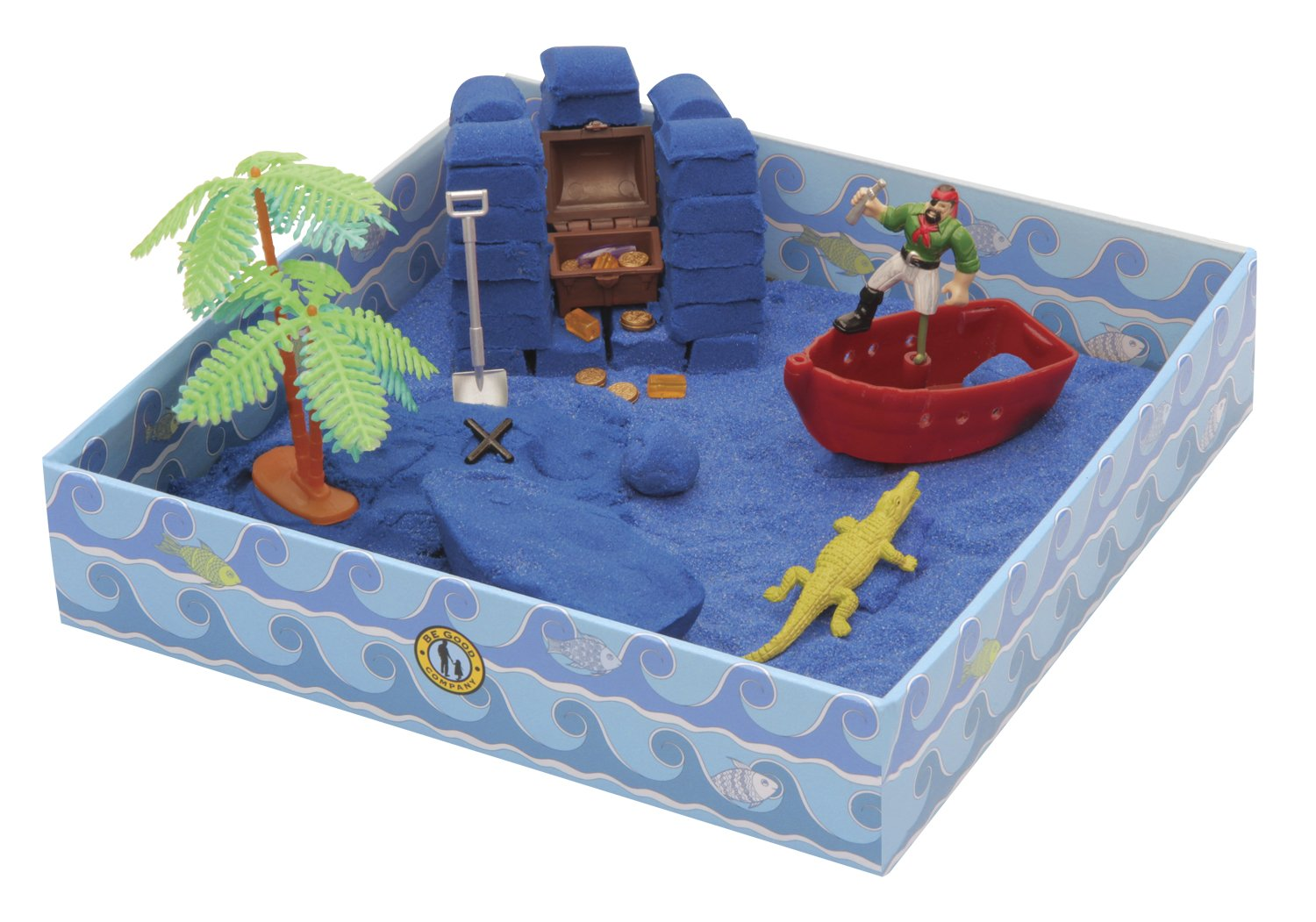 Be Good Company KwikSand Toy - Pirate's Plunder 42090