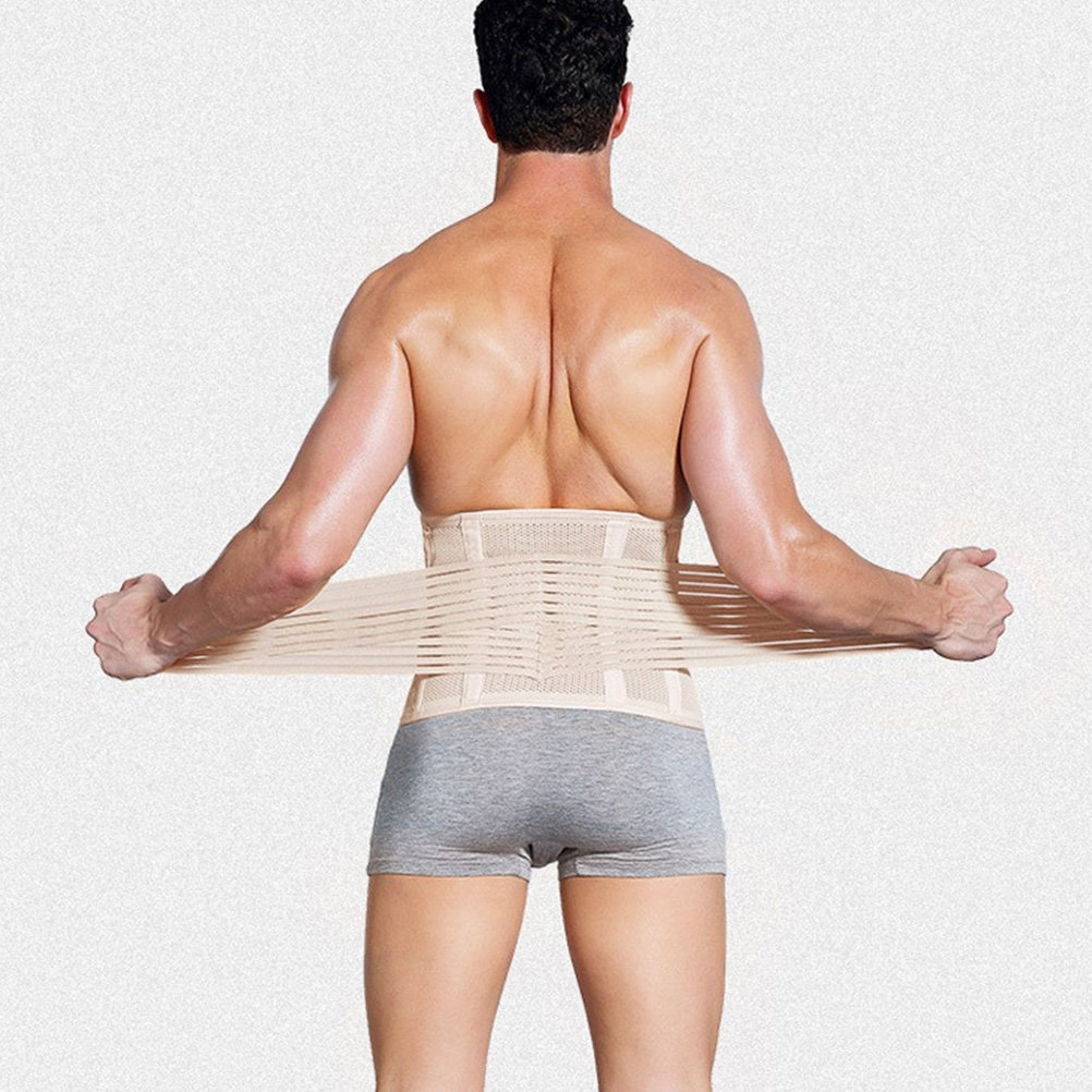21f2d82636d Zhhlaixing Mens Slimming Waist Shaper Compression Cincher Beer Belly Waist  Belt Body Shaper Tummy Trimmer  Amazon.co.uk  Clothing