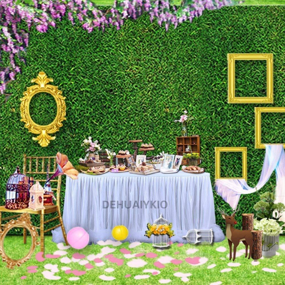 rosa matrimoni decorazioni e baby shower per feste 【Versione di aggiornamento】Gonna da tavolo Tulle Gonna lunga Tutu in tulle elegante Gonna Tovaglia per tavolo rotondo e rettangolare