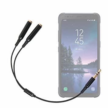 DURAGADGET Práctico Divisor De Auriculares para Smartphone Huawei ...
