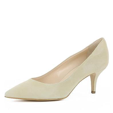 cc577fdd444 Giulia Escarpins Femme Daim  Amazon.fr  Chaussures et Sacs