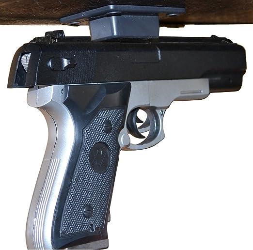 1x Verdeckte Pistolenhalter Holster unter Schreibtisch Tisch Tür Bett Magnet