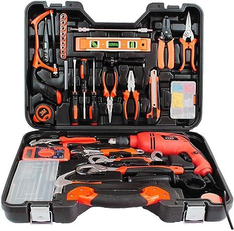 CWWHY Kit De Herramienta Mano Hardware Combinación Conjunto ...