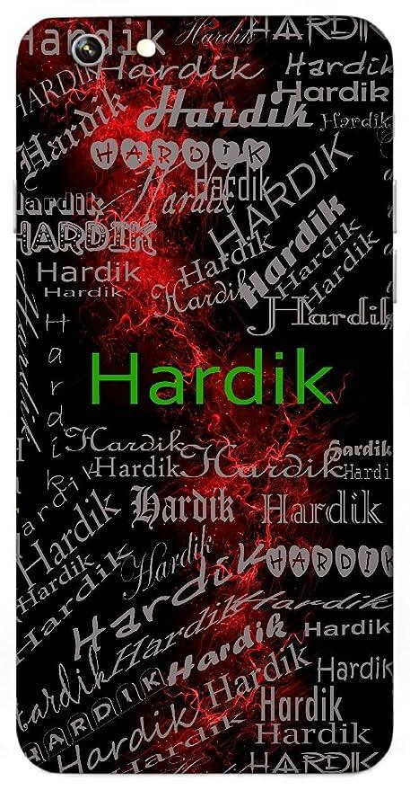 Hardik Name & Sign Printed All over customize: Amazon in: Electronics