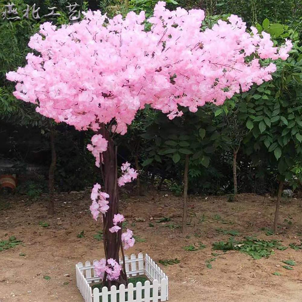 Amazon Com Lxmh Artificial Flower Cherry Blossom Tree Silk Sakura