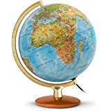 Jpc créations Globe terrestre 30 cm Bleu