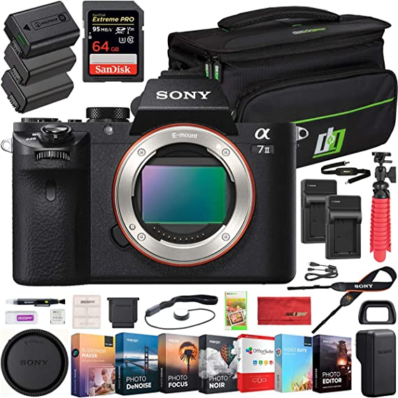 Sony a7 II ILCE-7M2 Digitalkamera , Schwarz: Amazon.de: Kamera