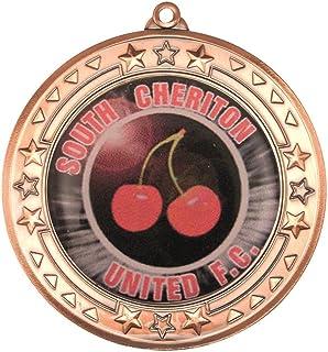Tri Star Médaille (Centre de Diamètre)–Bronze 2,75en Lot DE 10