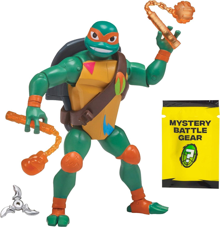 Rise of the Teenage Mutant Ninja Turtle Battle Shell Michelangelo Action Figure