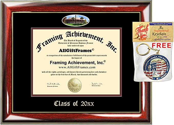 Custom Asu Diploma Frames Embossed Best Graduation Degree Frame Double Mat Campus Arizona State University School Fisheye Picture Frame Cheap Degree Certificate Holder Graduate Gift
