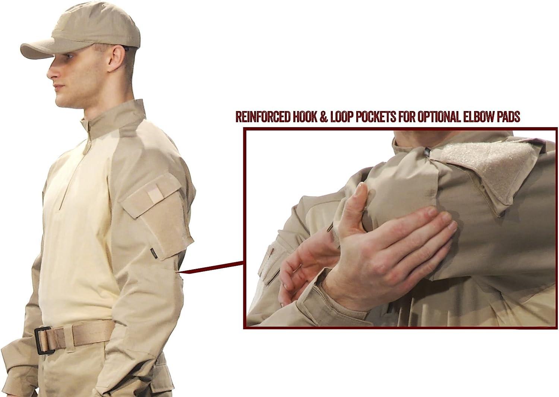 1//4 Zip Combat Shirt Tru-Spec Mens T.r.u