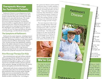 AmazonCom Massage Brochures Benefits Of Massage Health