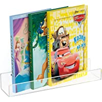 NIUBEE Acrylic Invisible Floating Bookshelf 16.5 inch,Kids Clear Wall Bookshelves Display Book Shelf,50% Thicker with…