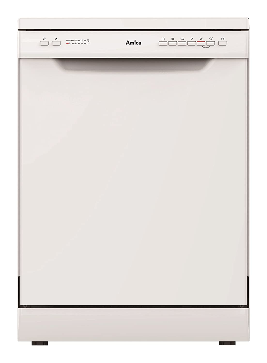 Amica ZWM696W Freestanding Dishwasher, 60 cm, White [Energy Class A++]
