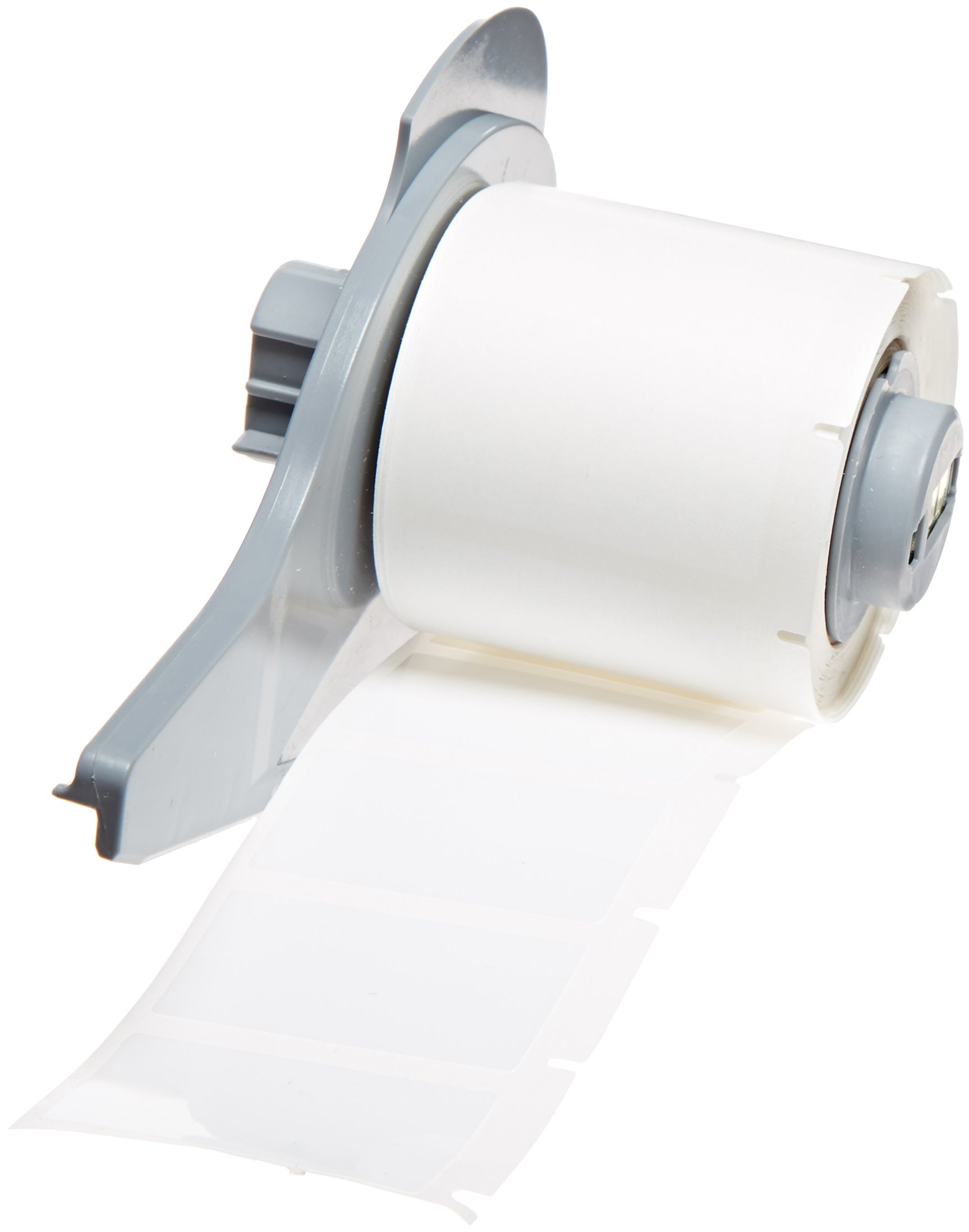 Brady M71-30-422 Permanent Polyester BMP71 Labels, White (250 Labels per Roll, 1 Roll per Package)
