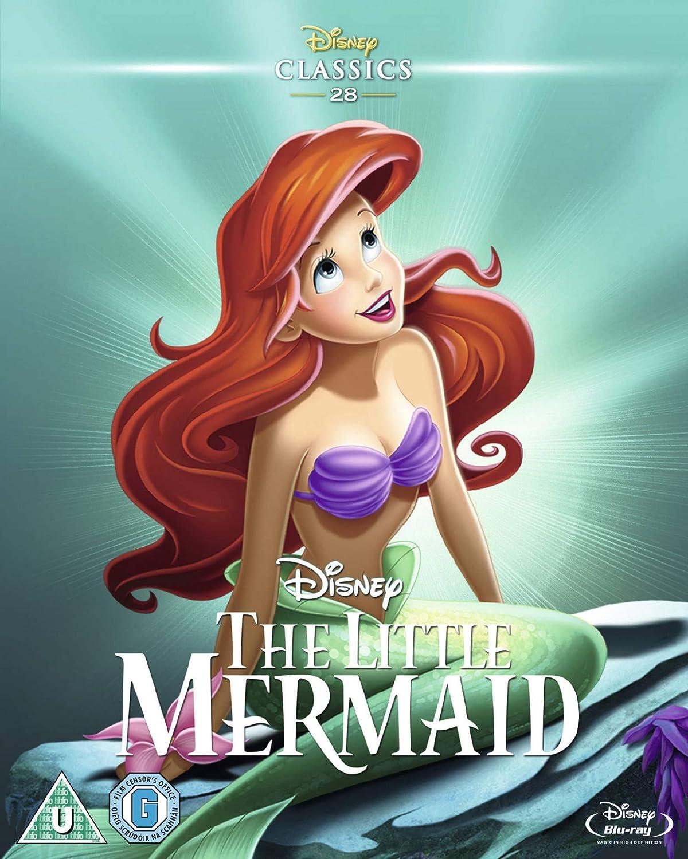 Little Mermaid Diamond Edition Reino Unido Blu-ray: Amazon.es ...