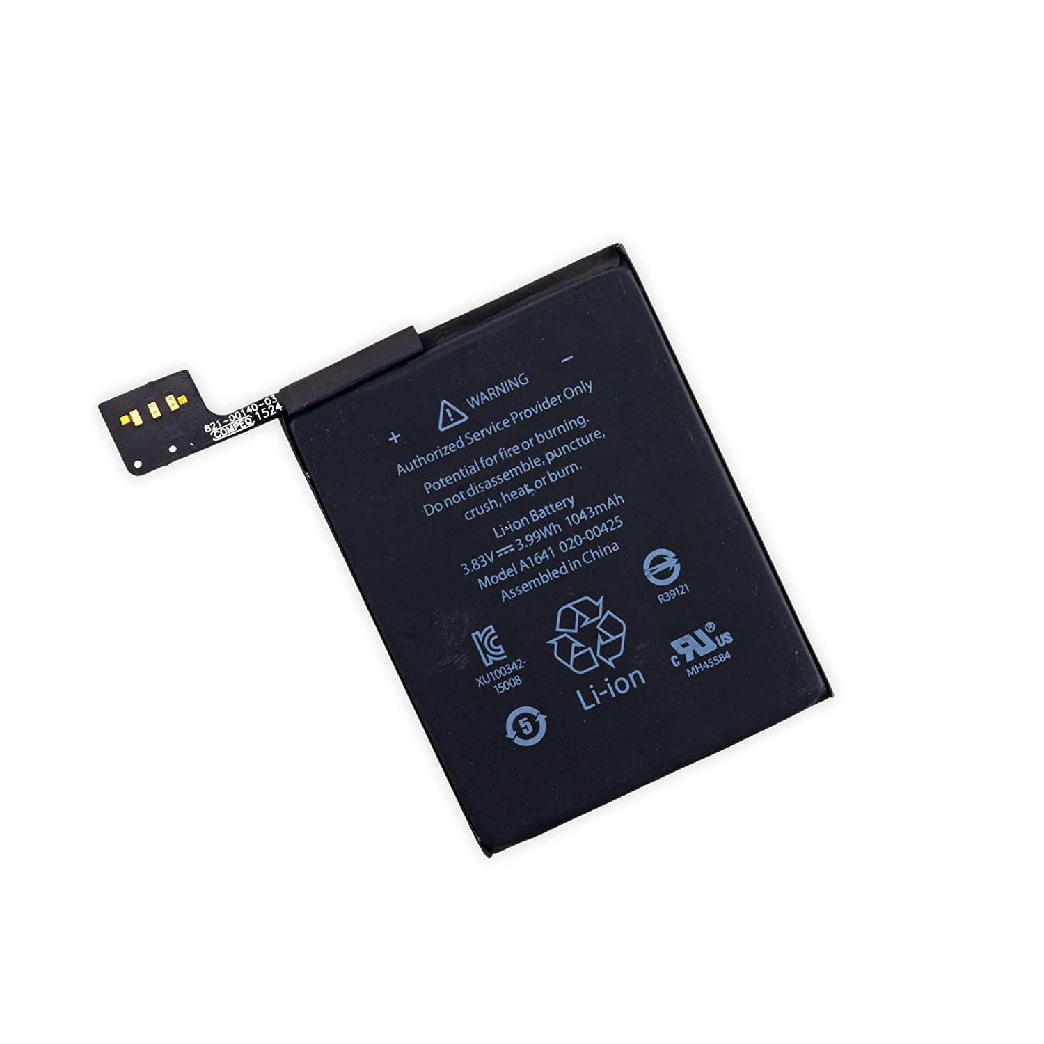 A1Pc Li-Polymer Battery 1043mAh 3.8V for iPod Touch 6th Gen with Repair Tools A1 Parts Canada