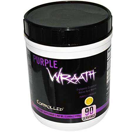 Controlled Labs Purple Wraath Amino Acid Matrix Purple Lemonade — 2.44 lbs