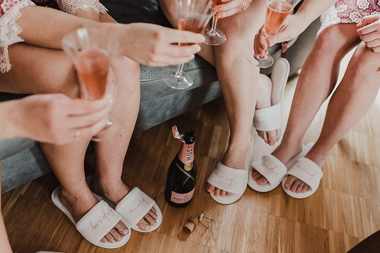 shopandmarry Pantoffeln bridesmaid Hochzeit