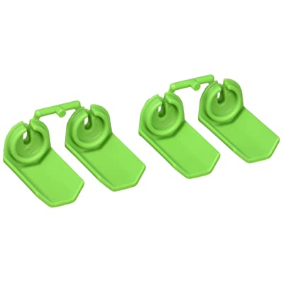 RPM Shock Shaft Guards for Traxxas and Durango 1/10 Scale Shocks, Green: Toys & Games