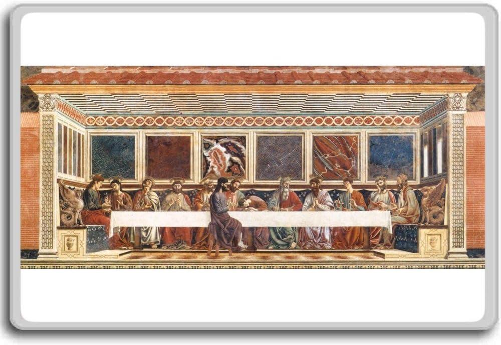 Andrea Del Castagno - Last Supper (1447) clasic art fridge magnet