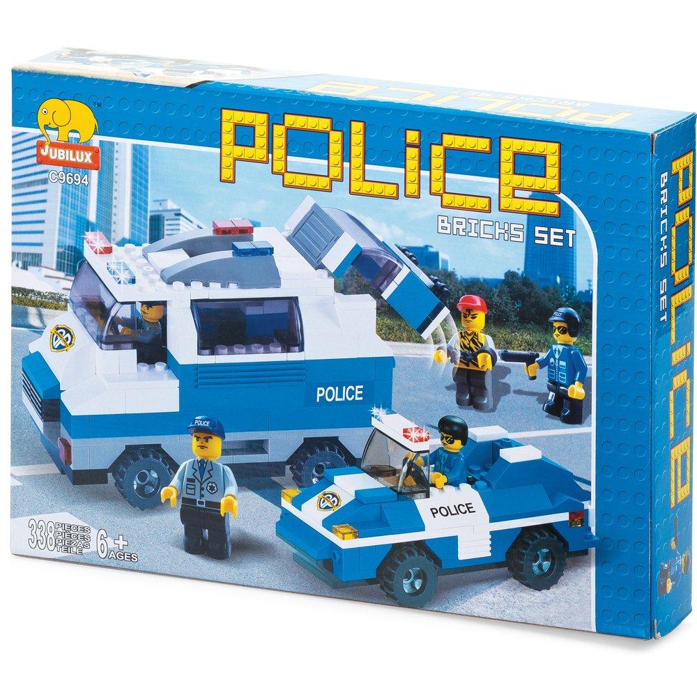Police Medium Set- Building Block / Bricks - Jungen-Spielzeug-Modell Geschenk