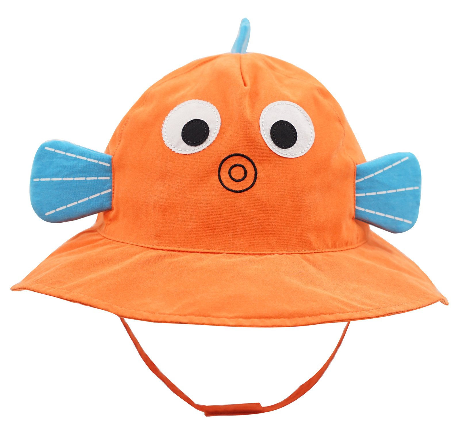 Connectyle Baby Infant Toddler Kids' UPF 50+ Sun Protection Hat Cute Cartoon Bucket Sun Hats by Connectyle (Image #1)