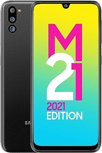 Samsung Galaxy M21 2021 Edition (Charcoal Black , 4GB RAM, 64GB Storage) | FHD+ sAMOLED | 6 Months Free Screen...
