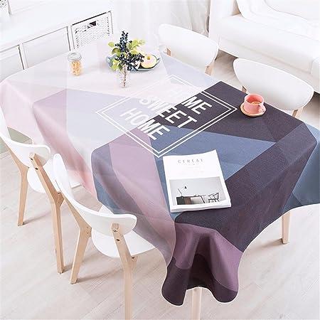 100 * 140 cm morado gris rosa Patchwork geométricas Instagram ...