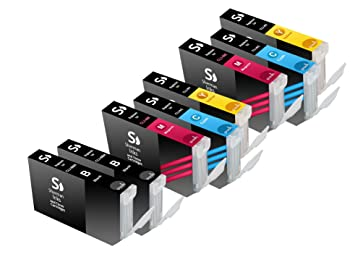 Amazon.com: Sherman tintas y cartuchos de tóner ® 8 unidades ...