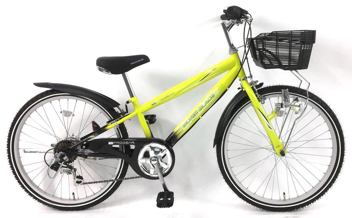 C.Dream(シードリーム) シルバーブレイド CTB06 20インチ 男の子向 子供自転車 イエロー 100%組立済み発送 B07D594DN7