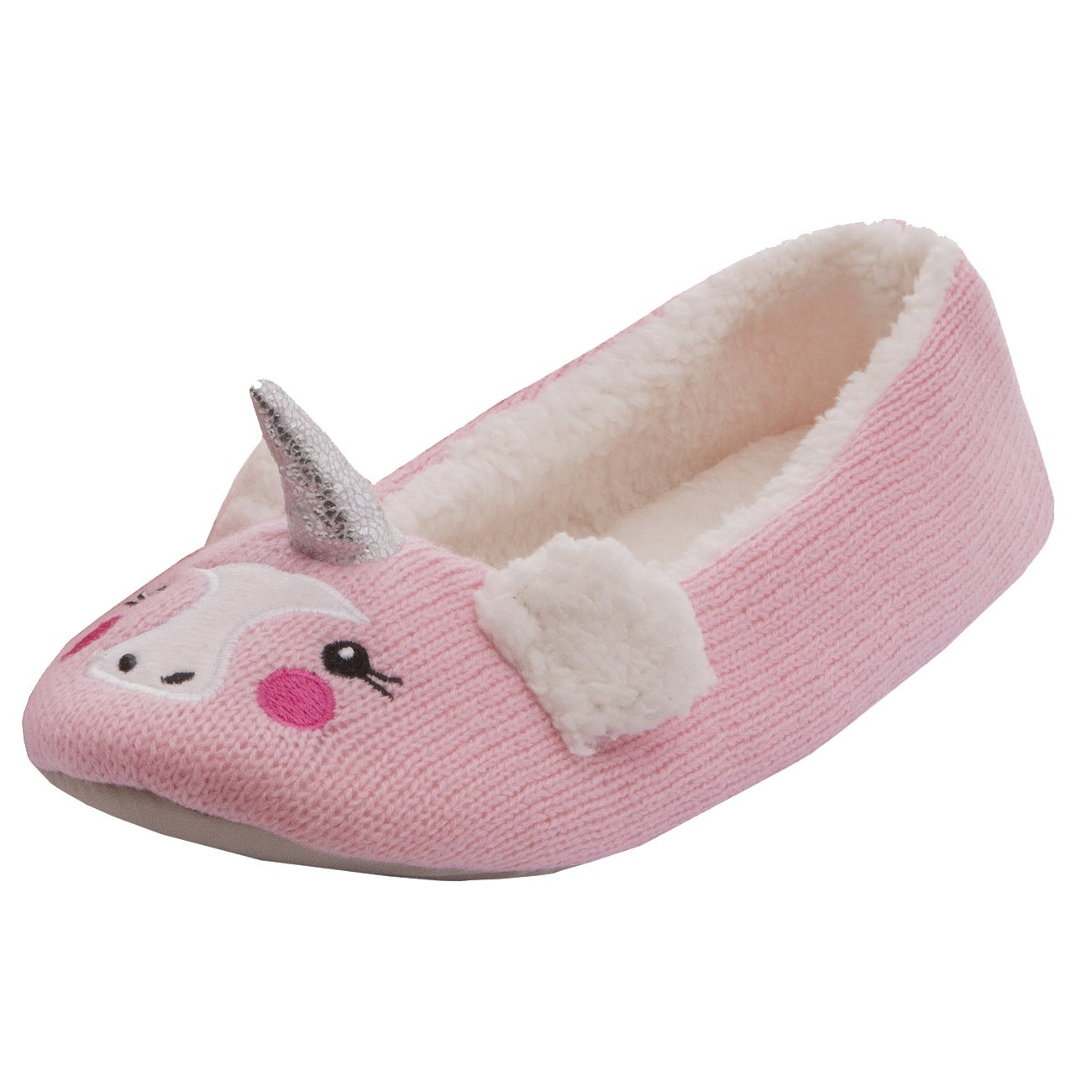 9863b0841db1 Forever Dreaming Ladies Womens Novelty Faux Fur Animal Panda Unicorn Slipper  Indoor Textile Sole  Amazon.co.uk  Shoes   Bags
