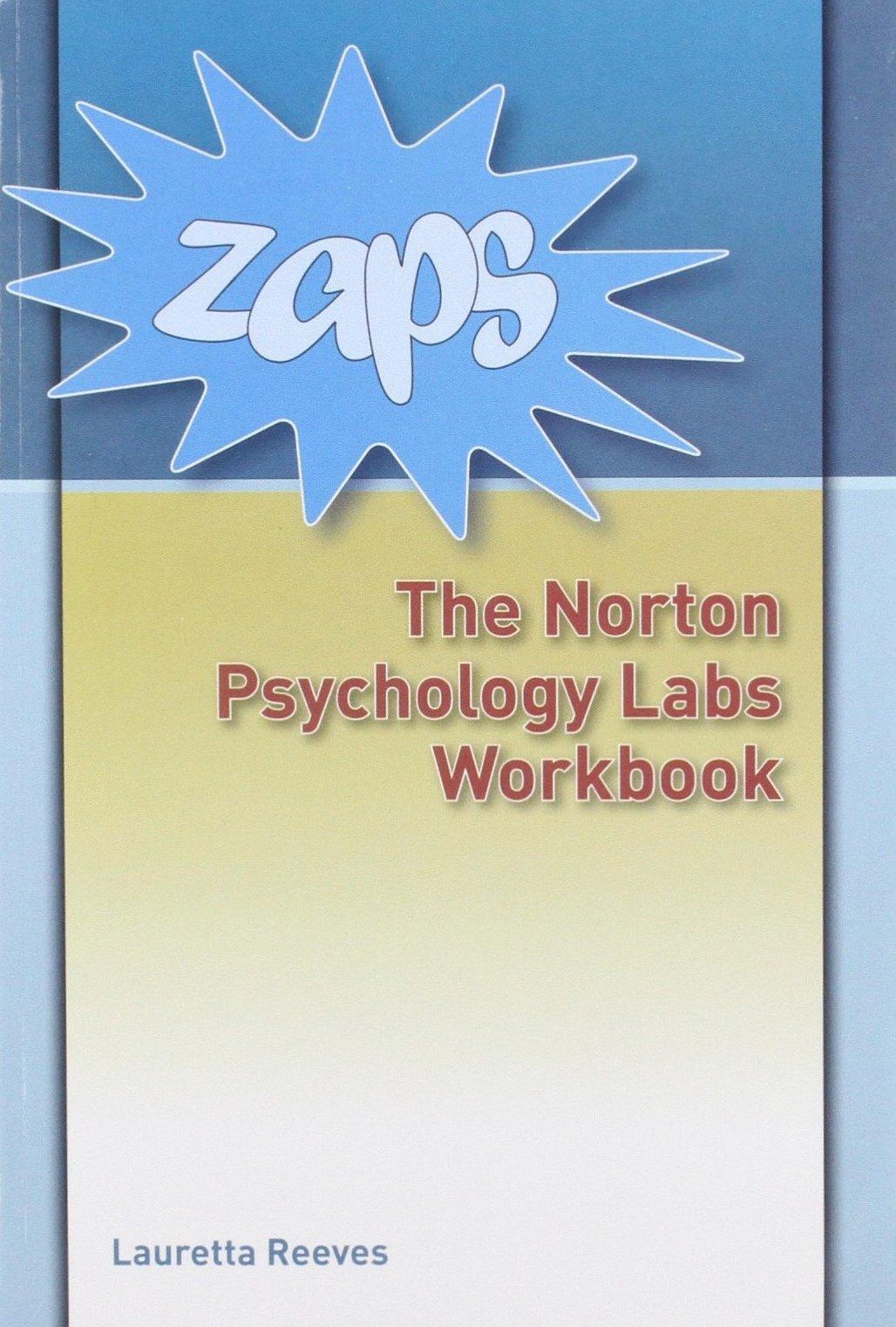 Zaps: Norton Psychology Labs Workbook and Password Card: Lauretta ...