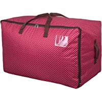DOKEHOM DKA1011G 100L Sacs pour vêtements, étanche épais surdimensionnée Organiseur Sac de Rangement, Sac de Voyage