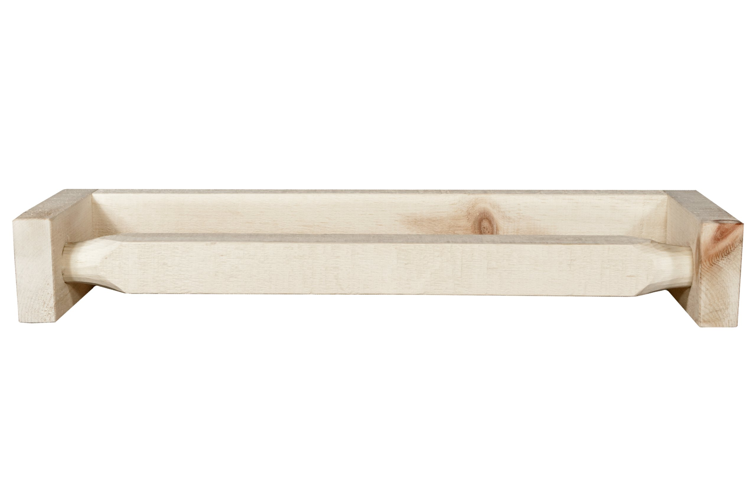 Montana Woodworks Homestead Collection Towel Rack, Ready to Finish