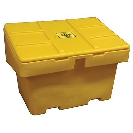 Techstar SOS Outdoor Storage Container   18.5 Cu. Ft.   Yellow, 48u0026quot;