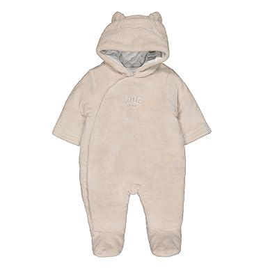 ed8c00beb Mothercare Baby Fluffy Novelty Pramsuit Bodysuit: Amazon.co.uk: Clothing