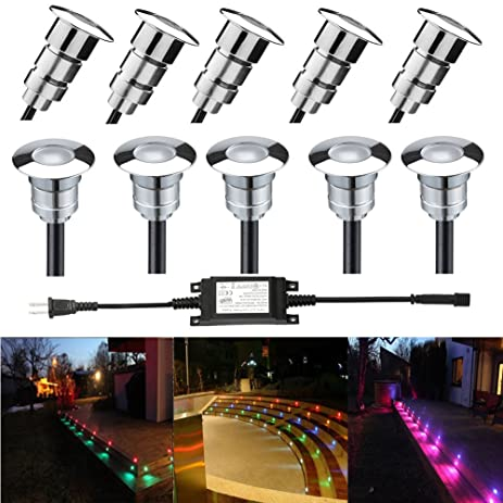 Fvtled led step light φ0 94 low voltage outdoor led deck lights garden mall