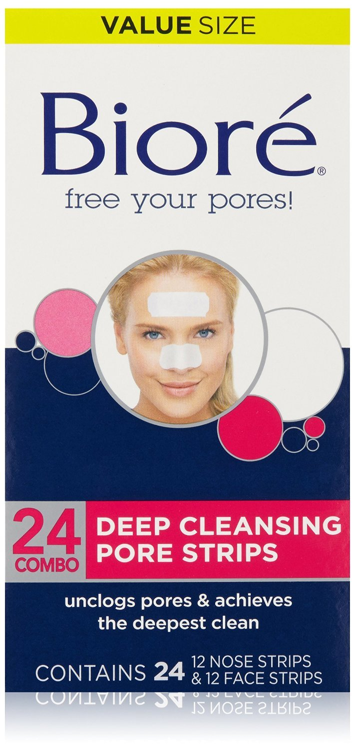 Biore Deep Cleansing Pore Strips, 24 Count (144 count)